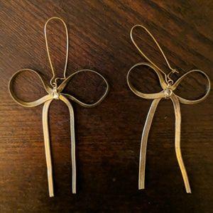 Betsy Johnson Bow Earrings